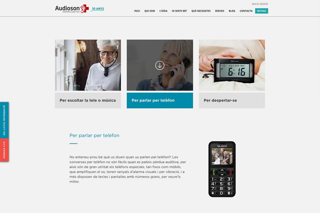 Web Audioson solucions