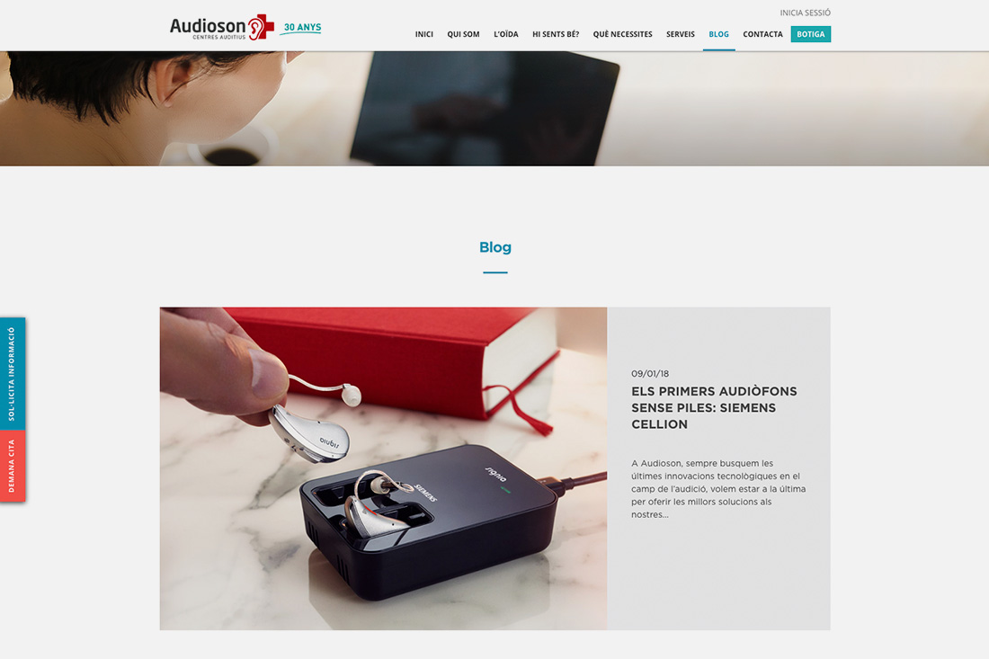 Web Audioson blog