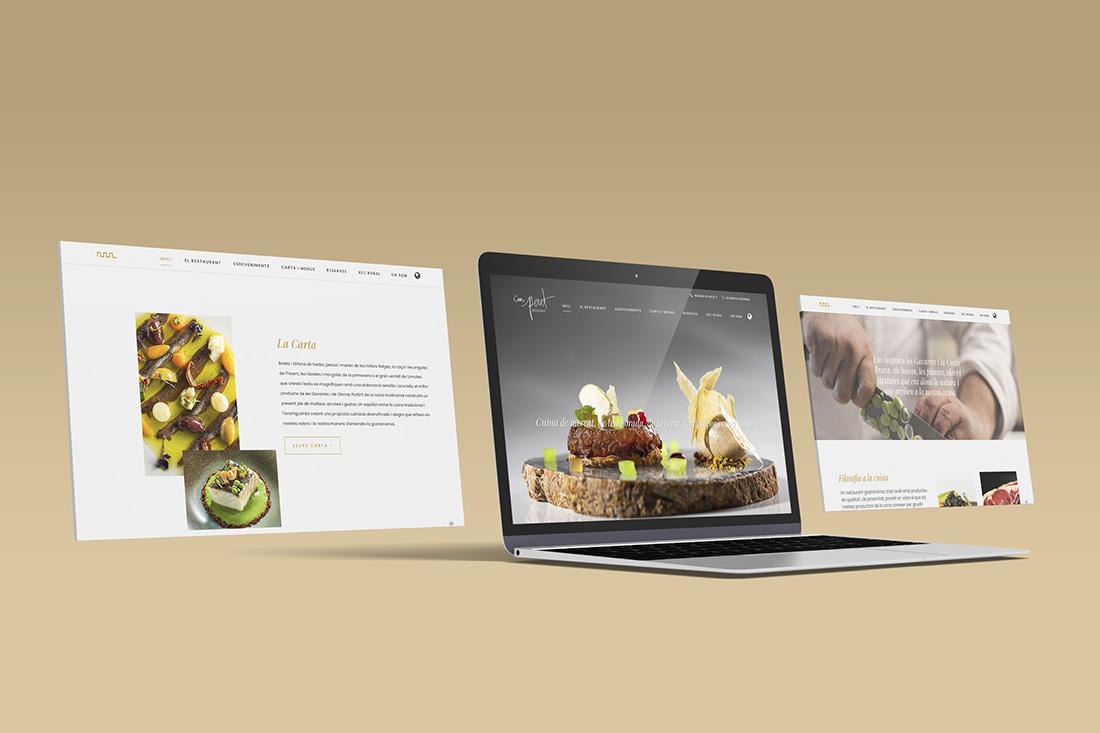 disseny pàgina web restaurant