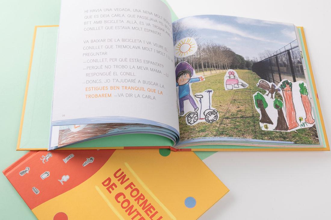 Conte amb i lustracions dels nens