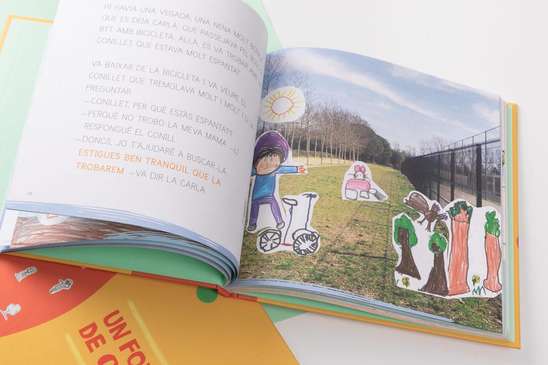 dibuixos i fotos dels nens