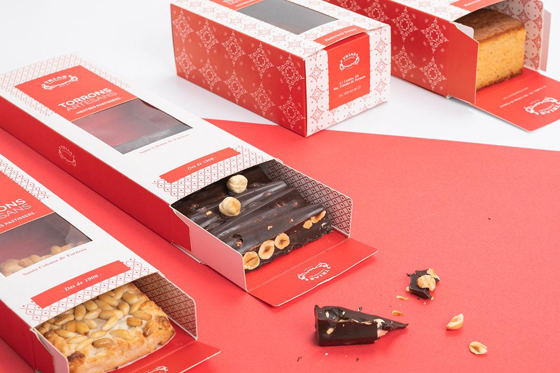 packaging turrons trias