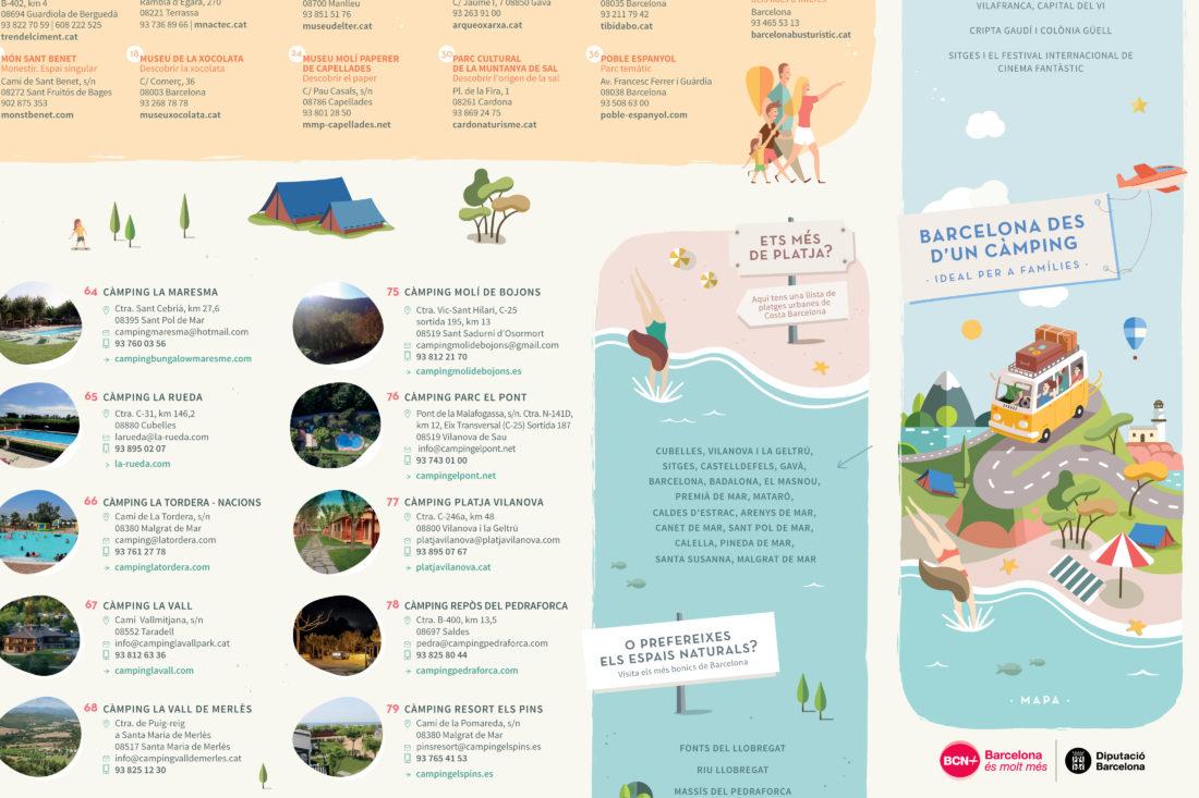 mapa ilustrat catalunya