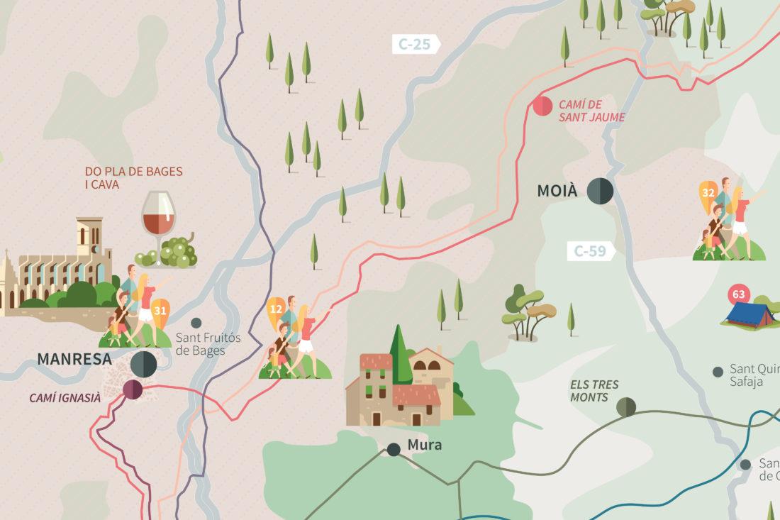 Disseny mapa girona