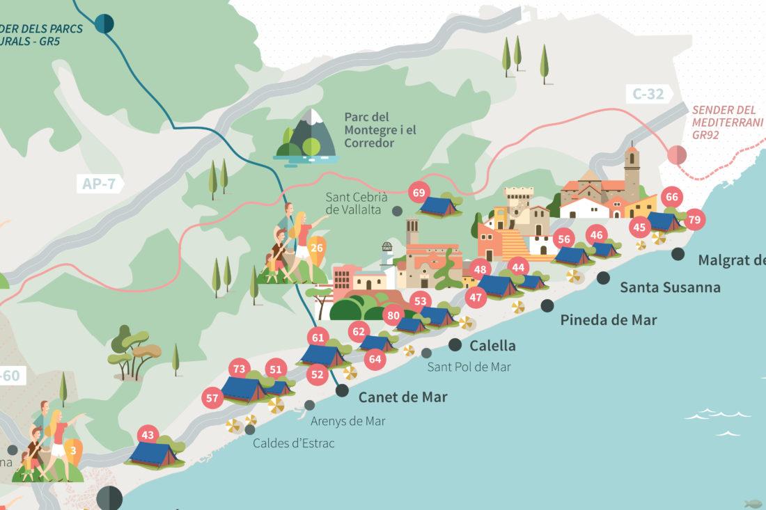 disseny mapa turistic