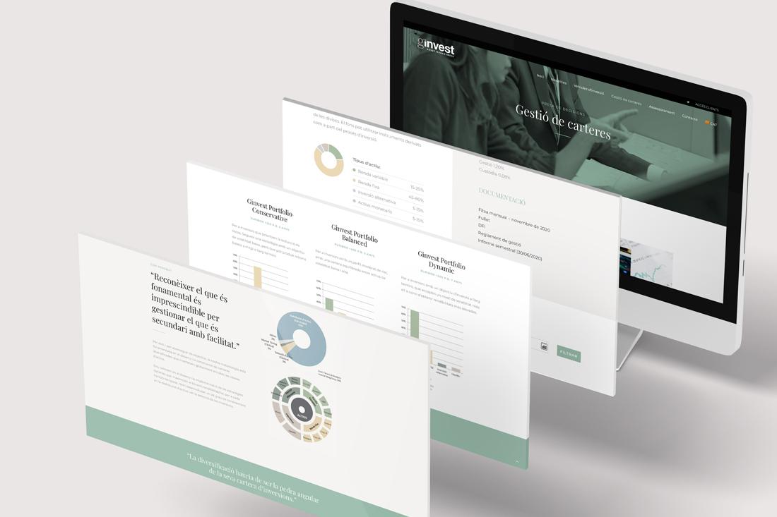 ginvest disseny web