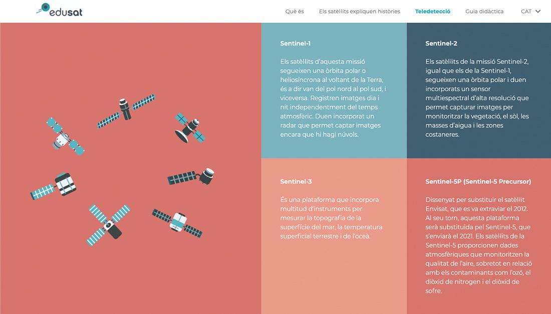 disseny web projecte recerca
